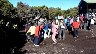 Kilimandzsáró dal - Afrika 2016 - Bánházi György...