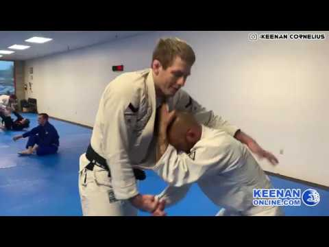 Keenan Cornelius narrates his ideas live during 40 minutes of sparring