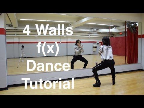 4 Walls - f(x) Step by Step Dance Tutorial