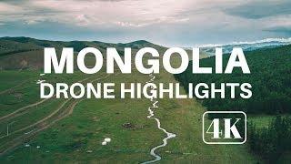 Highlights of Mongolia from Above | Drone | DJI Mavic Pro | 4K