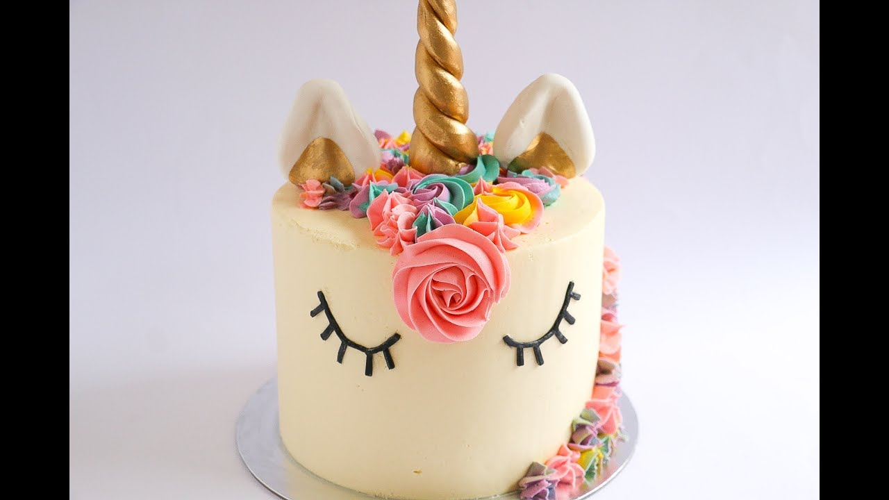 Unicorn Cake Tutorial Rosie S Dessert Spot Youtube