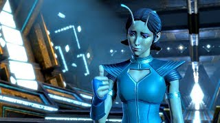 Mantis Tells Gamora about Peter Quill's Erection Because of Her (Guardians of the Galaxy | Telltale)