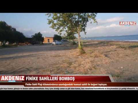 Finike Sahilleri Bomboş