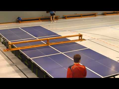 world biggest table tennis table 8 x 3 metres