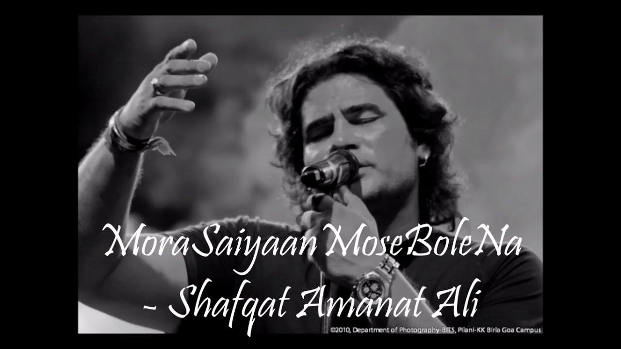 Mora Saiyaan - Lyrics [2016] - YouTube