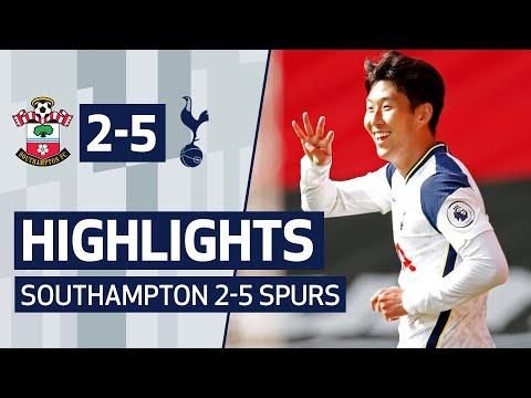 Southampton Tottenham Goals And Highlights