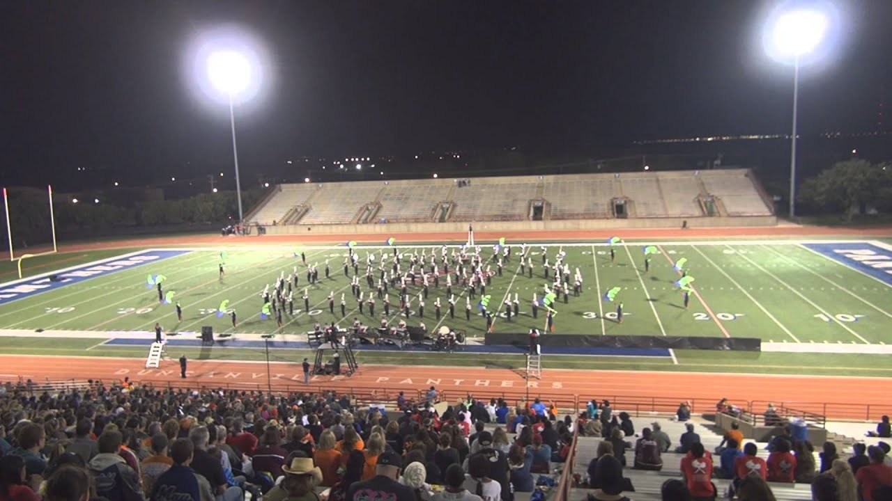 """2013-10-26 - THS Band - Duncanville Marching Invitational """"Finals"""" Show"""