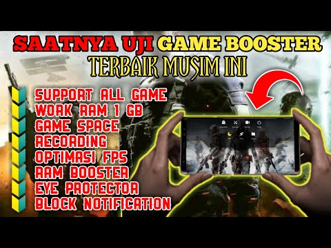GAME BOOSTER TERBAIK AUTO LANCAR WORK ALL GAME SUPPORT ALL DEVICE