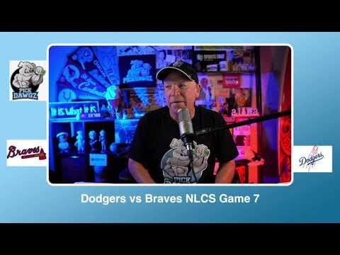 Los Angeles Dodgers vs Atlanta Braves Free Pick 10/18/20 NLCS Game 7 Picks & Predictions MLB Picks