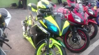 Keluarga Yamaha R15 club Indonesia @Batam touring Tanjung pinang