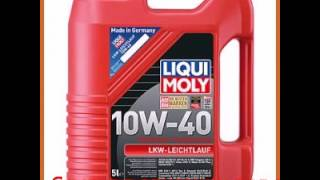 Нс-синтетическое моторное масло liqui moly lkw-leichtlauf-motoroil basic 10w-40 5л 8026