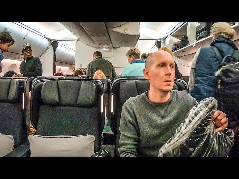QANTAS 787-9 Premium Economy Is NICE!! (SFO-MEL)