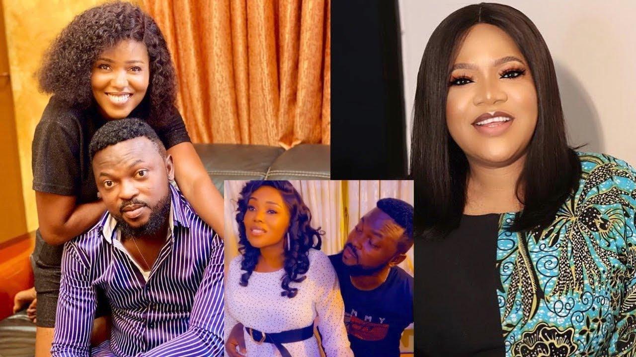 Yoruba Actress Abiola Adebayo Warns Toyin Abraham To Come And Get Her Husband, They Were...