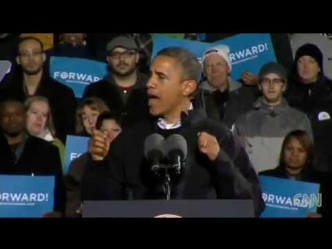 Obama gets emotional during final rally in Iowa