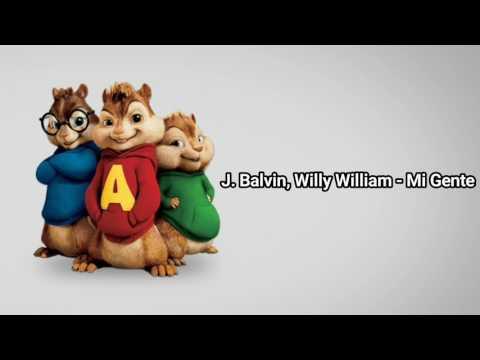 Mi Gente - Chipmunks version