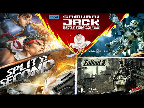 PS3 Games On PS4 Linux: Street Fighter X Tekken, Split/Second, Fallout 3, Vanquish And Other Stuff