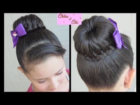 braided-bun---lace-braided-bun-|-dance-hairstyles-|-updo-hairstyles