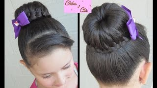 Braided Bun - Lace Braided Bun | Dance Hairstyles | Updo Hairstyles