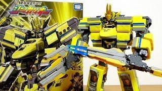 5両で変形合体!黄色いアイツが遂にキタ! 新幹線変形ロボ シンカリオン DXS11 ドクターイエロー レビュー! クロス合体 & レーザーウエポン スケール感が史上最強☆