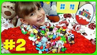 ПРОЩАЮСЬ С ИГРУШКАМИ! Мои любимые игрушки из КИНДЕР СЮРПРИЗОВ. Отдам в хорошие руки! (часть 2)