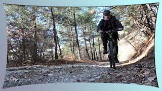 Поход на велосипеде по горам