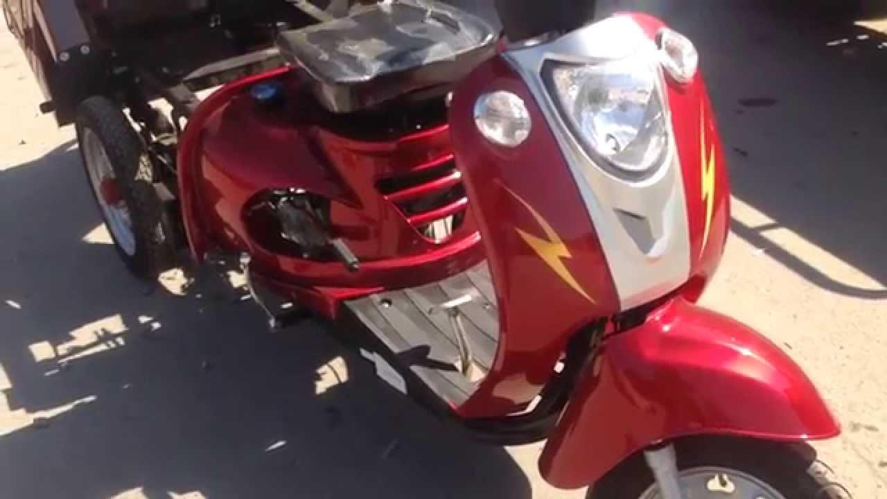 Spark Мотоцикл Обзор. Ft110-4. Спот110тр-4 Грузовой | грузовые мотоциклы