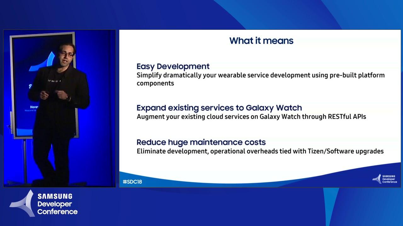 Introducing Samsung Wearables Service Platform