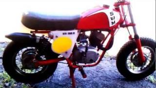 1978 SWM mini cross 50cc very rare