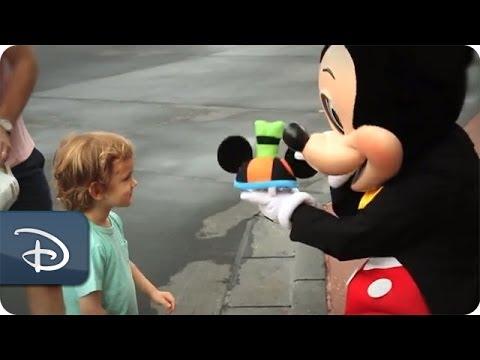 #DisneyKids: First Ear Hat at Magic Kingdom Park | Walt Disney World