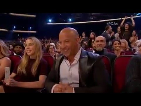 Vin Diesel sings a tribute to Paul Walker at People's Choice Awards 2016