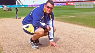 Edgbaston Head Groundsman Gary Barwell on Finals Day pitch