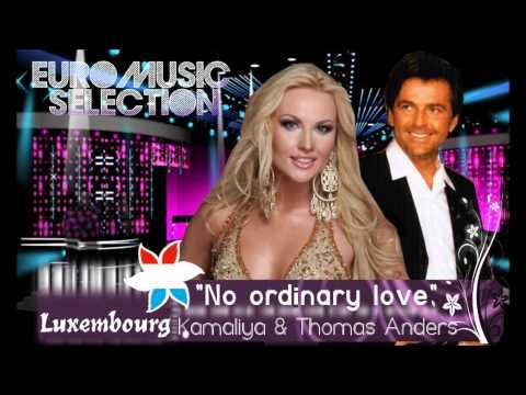 "EMS 7 - LUXEMBOURG - Kamaliya & Thomas Anders - ""No Ordinary Love"""