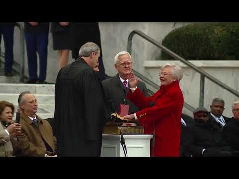 VIDEO: Alabama Gov. Kay Ivey takes oath of office