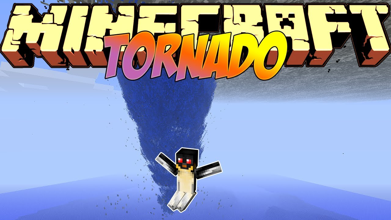 Minecraft mods showcase tornado mod! (1. 7. 10) 1. 8 1. 7. 10.