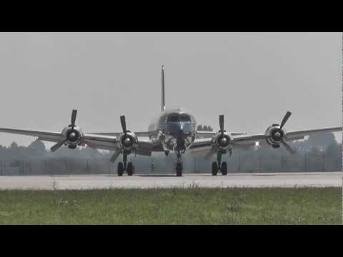 The Flying Bulls historic aircraft ✈ take-off from Prague LKPR