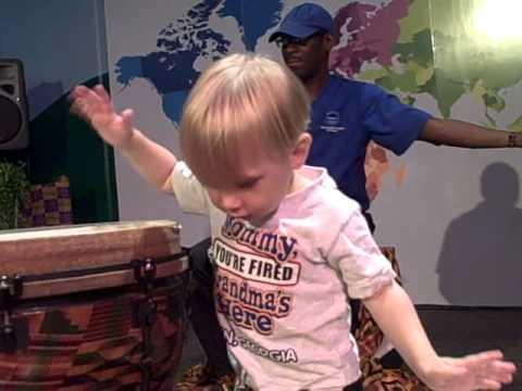African Drum jam session