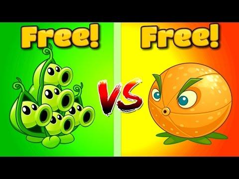 Plants vs Zombies 2 CITRON VS PEA POD | Pomelo vs Vaina