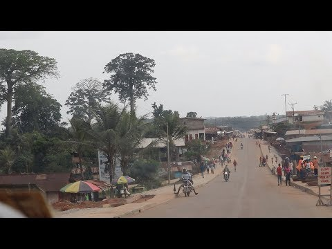 ROAD TRIP LIBERIA  | Monrovia to Maryland County | SheaMoringaTV