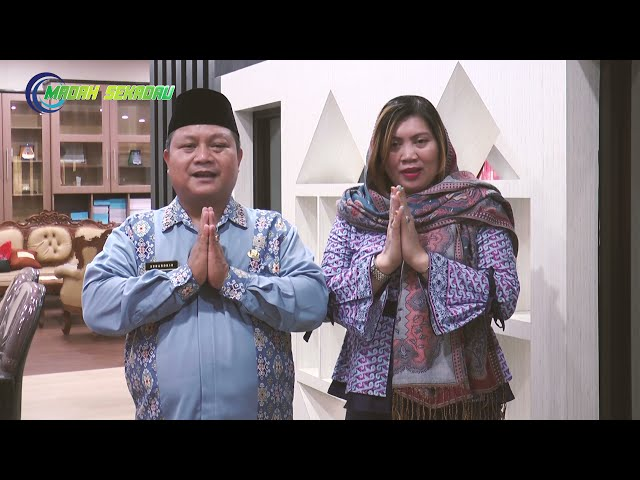 Greeting Idul Fitri 1442 H, Wakil Bupati Sekadau - Subandrio, S.H, M.H