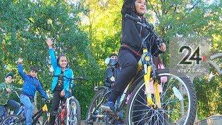 Школьники приняли участие в акции «День без авто»