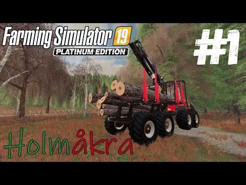 Farming Simulator 19 Holmåkra - Лесная ферма #1
