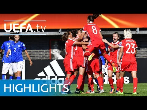 Women's EURO Highlights: Italy 1-2 Russia