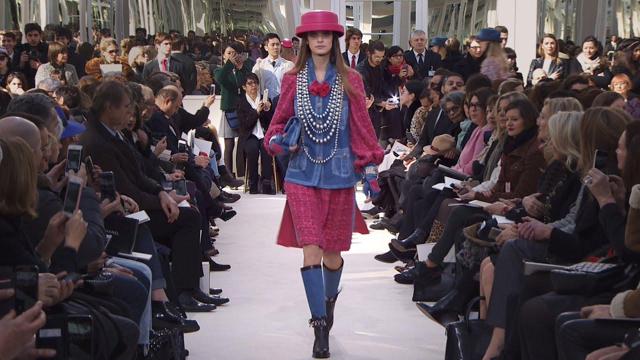 to wear - Ready-to-wear /16 fall-winter chanel show video