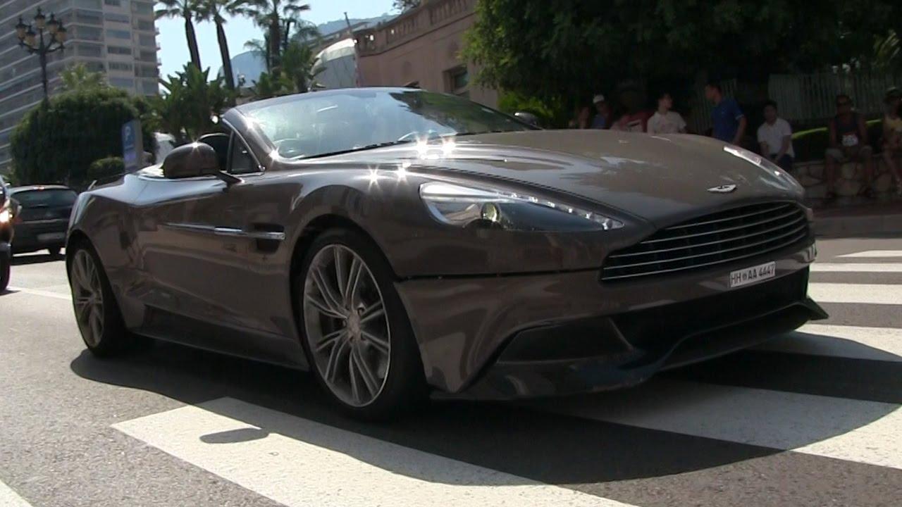 RENTAL Aston Martin Vanquish W BROKEN Front Bumper In Monaco - Aston martin vanquish rental