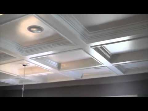 Coffered Ceilings Easy Diy Coffered Ceilings For Only 1 500