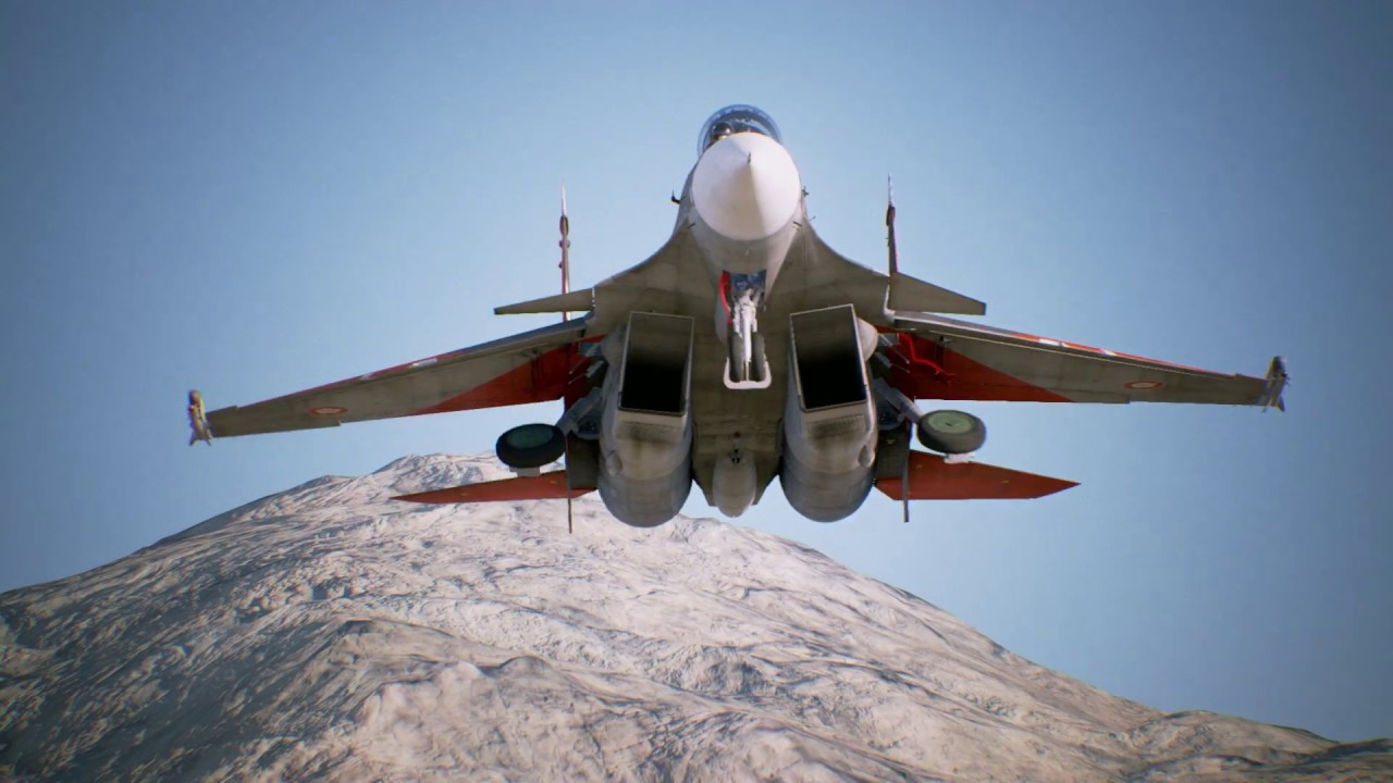 Ace Combat 7 Skies Unknown New Years Showcase Trailer Ps4 Ps Vr Xb1 Pc Youtube