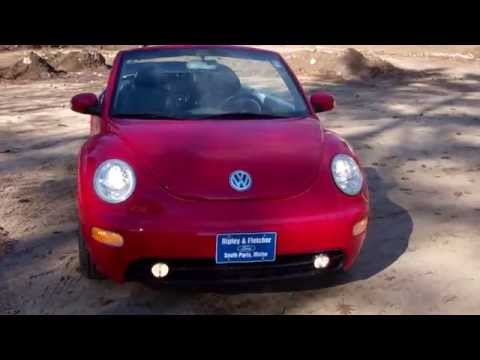 Best Price Lowest Price Used 2003 VW New Beetle Convertible Portland Maine