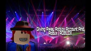 Verschenken Roblox Konto und Robux | ROBLOX