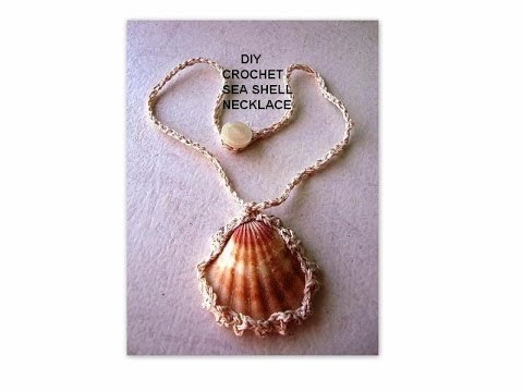 Shells Wire Crochet Necklace Wire Center