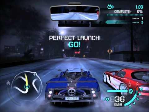 Nfs Carbon - Pagani Zonda Tricolore vs Dodge Viper SRT 10 [HD]